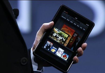 digital entertainment marketing Amazon Kindle Fire