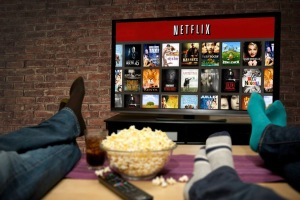 digital entertainment marketing pop corn netflix