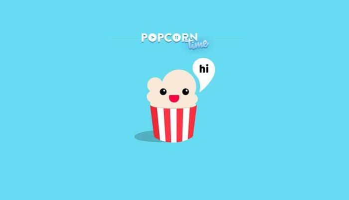 digital entertainment marketing - popcorn time