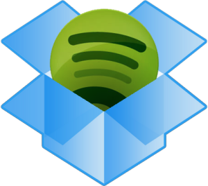 digital entertainment marketing - dropbox spotify