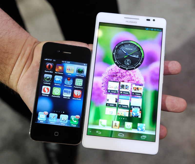 digital entertainment marketing - smartphone screen