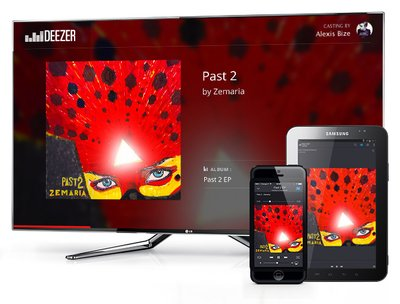 digital entertainment marketing deezer chromecast