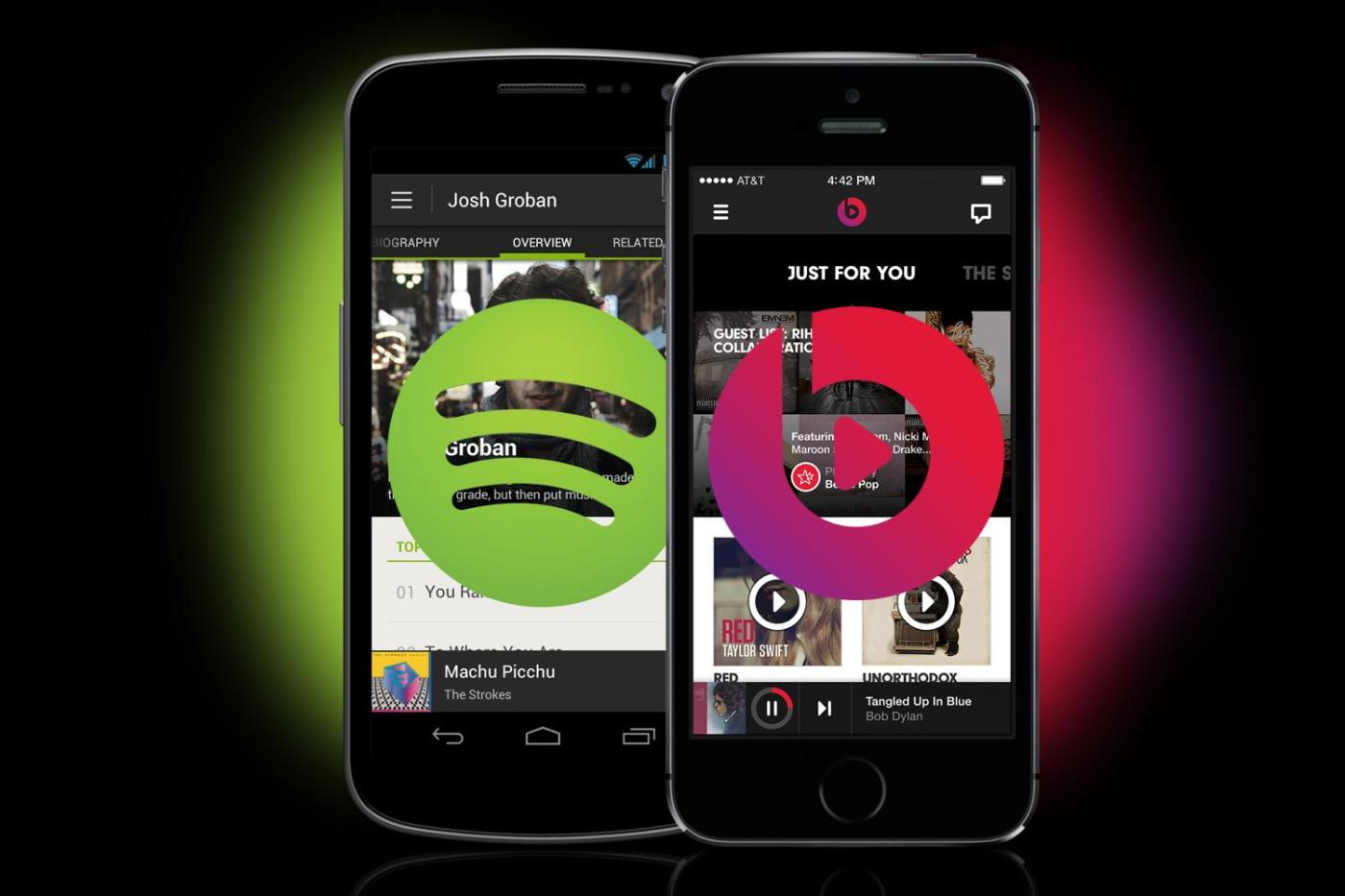 digital entertainment marketing post spotify beats by dre