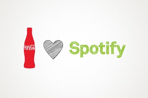 digital entertainment marketing post spotify coca cola