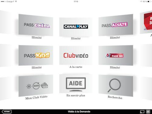 digital entertainment marketing sfr tv vod