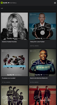 digital entertainment marketing spotify loves football