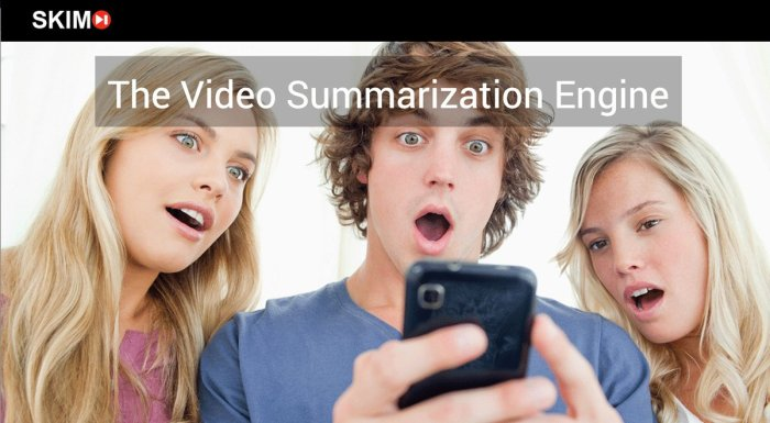digital entertainment post marketing app summarizes video