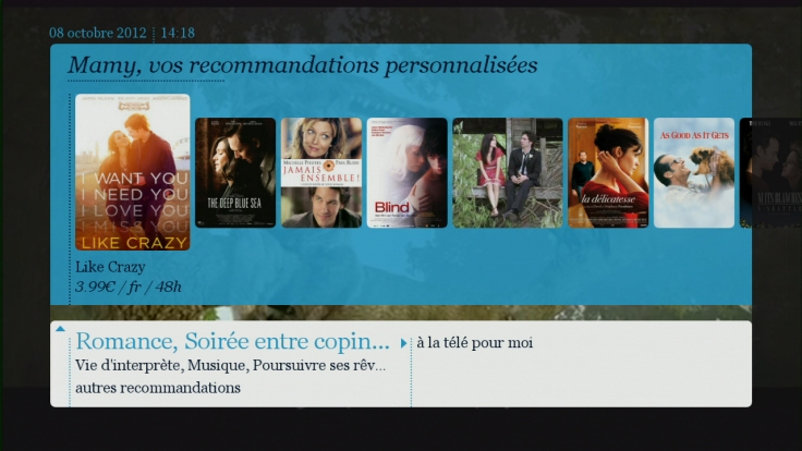 digital entertainment marketing post belgacom vod personal recommandations