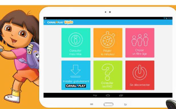 La nouvelle offre Canal Play Kids est proposée sans supplément avec le service de SVOD Canal Play. DR