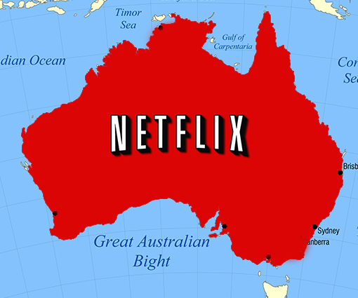 digital entertainment post marketing netflix australia