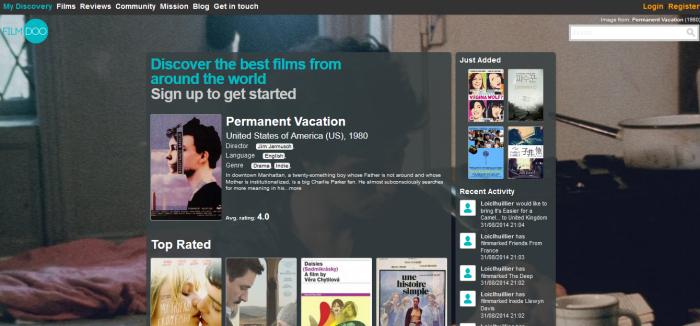 Screenshot from FilmDoo