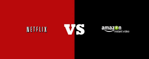 digital entertainment post marketing Netflix vs Amazon