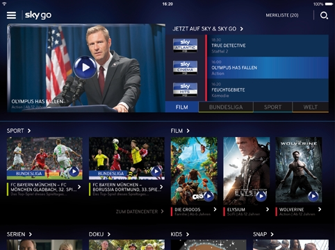 digital entertainment post marketing sky go