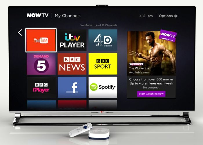 digital entertainment post marketing Sky Now TV