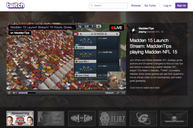 More than 55 million people watched video-game livestreams on Twitch in July.