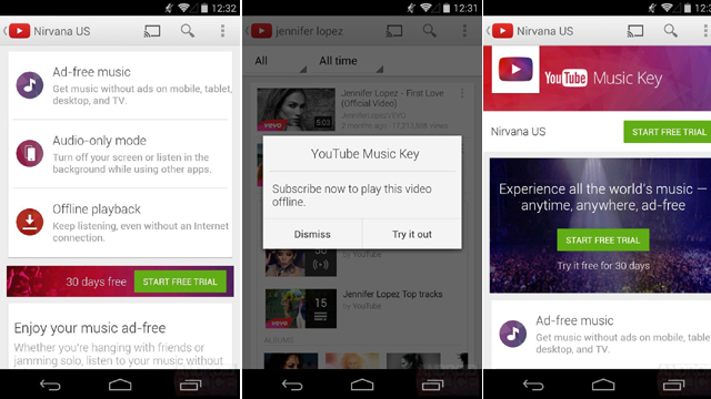 digital entertainment post youtube android music