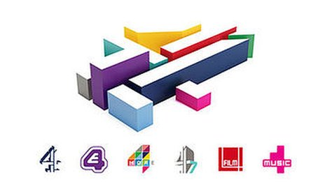 The new All 4 logo is derived from the Lambie-Nairn Channel 4 logo, using colours to represent each of Channel 4's different brands.