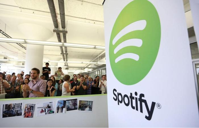 Total revenues at Spotify UK grew 40% to £131.3 million