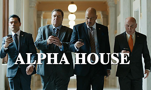 "Amazon's original series ""Alpha House"" will be available via 4K streaming   • Amazon"