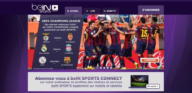 digital entertainment post bein sport second écran
