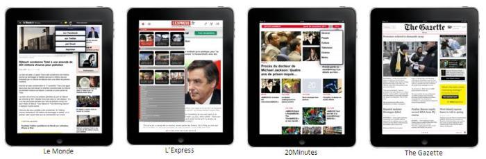 digital entertainment post presse tablette