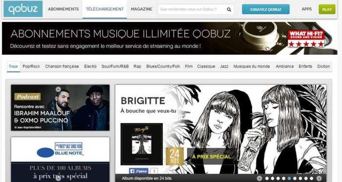 Qobuz n'a pas les moyens d'un Spotify ou Deezer mais mise sur la qualité d'écoute. - Qobuz